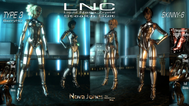 TYPE3 and SKINNY LNC StealthSuits at Fallout3 Nexus - mods and community