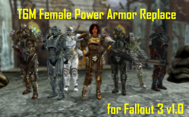 T6M Female Power Armor Replace