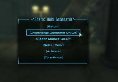 Holographic Armor FO3 at Fallout3 Nexus - mods and community