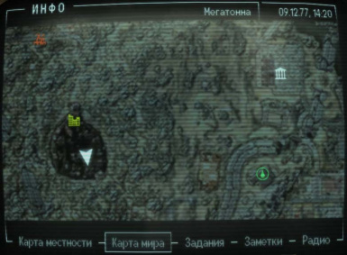 Color Hi-Detailed map and icons at Fallout3 Nexus - mods and ...