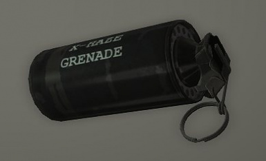 Example of one of the new grenade types added