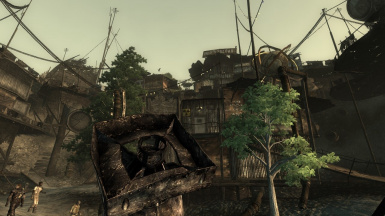 Megaton Suggestive With Trees and Birds