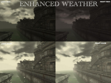 Enhanced Weather - Rain and Snow