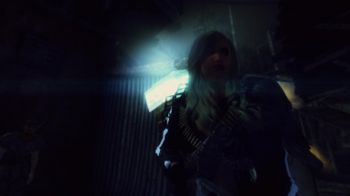 Cinematic Anamorphic Lens Flare for ENB