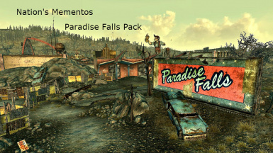 Nation's Mementos - Paradise Falls Pack