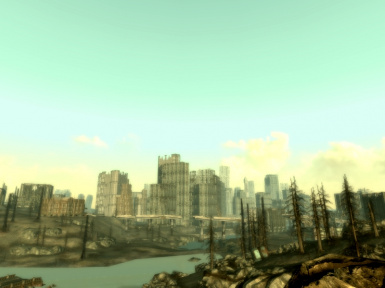 Taller dc true skyscrapers at fallout3 nexus mods and community - Fallout new vegas skyline ...