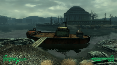 My Old Tub - Boat Player Home Fallout 3 Edition