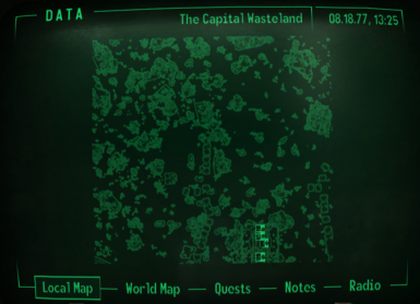No player marker or cursor on maps at Fallout3 Nexus - mods ...