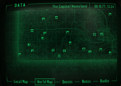 No player marker or cursor on maps at Fallout3 Nexus - mods ... on mass effect 3 map, mass effect 2 map, fallout bobbleheads map, skyrim map, gta 4 map, fallout 1 map, fable 3 map, national guard depot fallout map, far cry 3 map, complete fallout map, dark souls map, fallout map united states, fallout 2 map, elder scrolls oblivion map, dead island map, grand theft auto map, fallout faction map, red dead redemption map,
