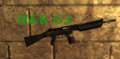 HK G3 (FWE-IronSights compatible)