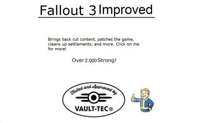 Fallout 3 Improved