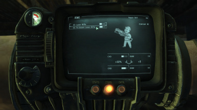 Tri Beam Laser Rifle Repair Fix for Fallout 3 Broken Steel