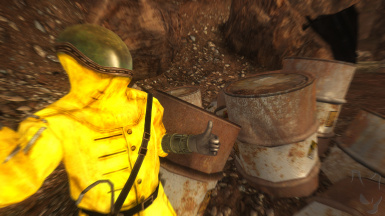 Realistic Radiation Suits FO3