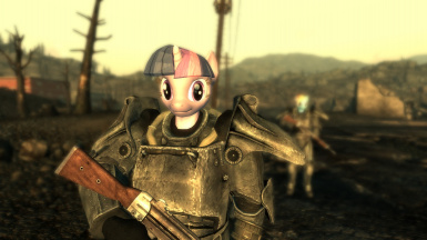 Twilight and Dashie in the Wastes