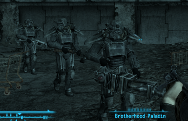 Brotherhoods Wasteland patrol mod   unofficially fixed (5 years later)