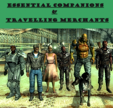 FO3 - Essential Merchants and Companions BAT File