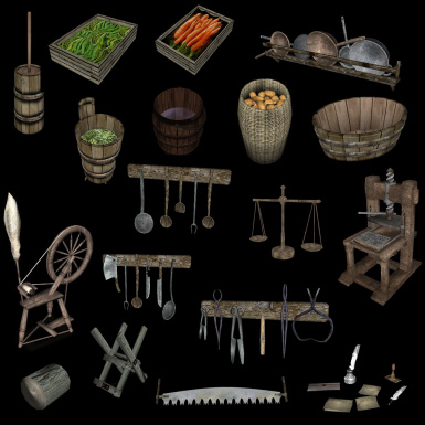 Various Meshes Resources