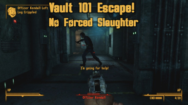 Vault 101 Escape_No forced slaughter