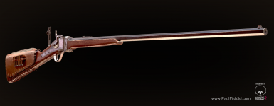 1874 Sharps Rifle a.k.a Buffalo Rifle
