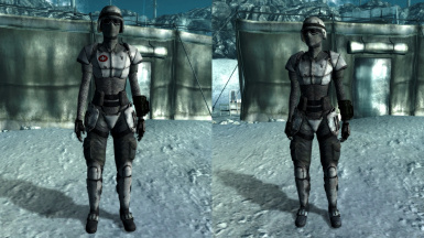 T6M Winterized Combat Armor and Medic Armor
