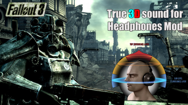 True 3D Sound for Headphones (HRTF mod)