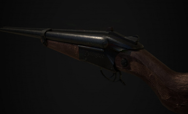 Double Barrel Shotgun Retexture