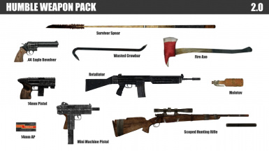 Humble Weapon Pack