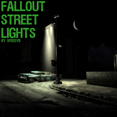 Fallout Street Lights - Fr
