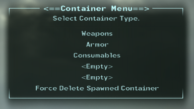 Cheat Container