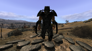 MMM Deathclaw Alpha and Super Mutant Enforcer Retexture