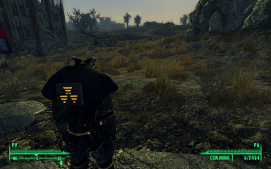 Classic Advanced Power Armor Animated Backpack