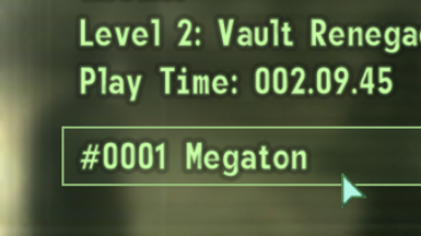 FO3 Save File Counter Reset and Archiver