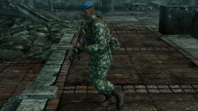 Camouflage Paratrooper Uniforms