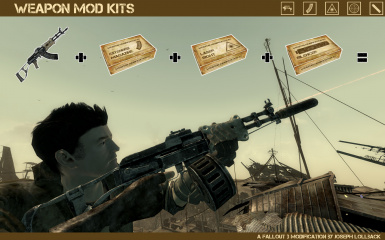 Weapon Mod Kits Traduction FR