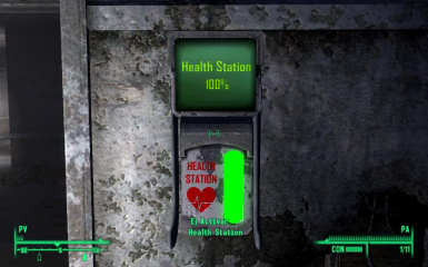 Animated Health Stations