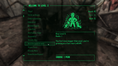 New Super Mutant Perks