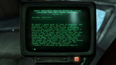 Vault 101 Scouting Report - Additional Information About the Wasteland for Immersion
