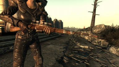 Suppressed Hunting Rifle - Third Person
