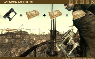Weapon Mod Kits at Fallout3 Nexus - mods and community