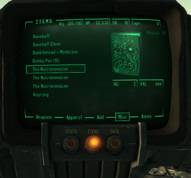 New Pipboy Icon