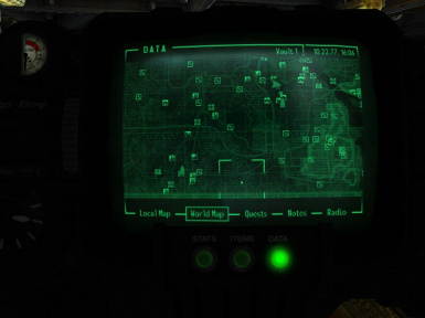 Tracking system on Pip-boy