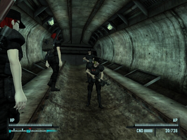 On Patrol in the Tunnels