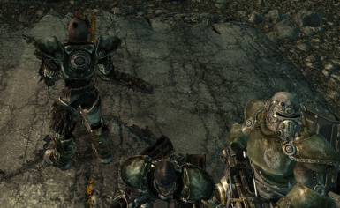 raider power armor at fallout3 nexus mods and community