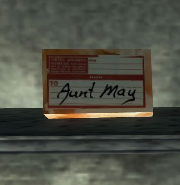A package for Aunt May