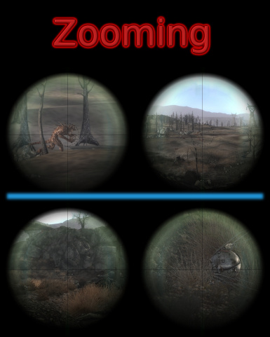 Artorps Zooming Scoped Weapons