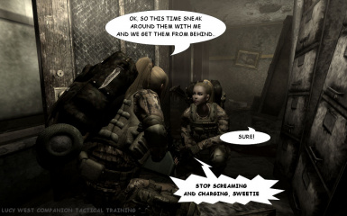 Lucy tactical briefing