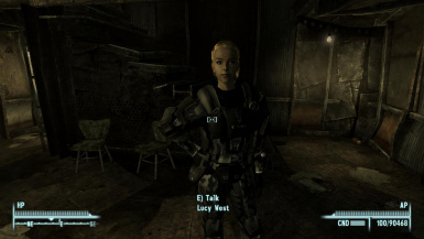 Lucy is ODST