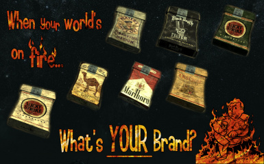 Whats Your Brand - cigarette texture megapack