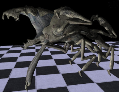 arachnid and cloverfield parasite model resource at Fallout3 Nexus