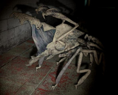 arachnid and cloverfield parasite model resource at Fallout3